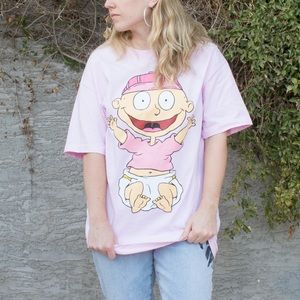Pink Rugrats Tommy T-Shirt
